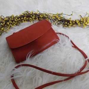 Vintage Coach Crossbody Red